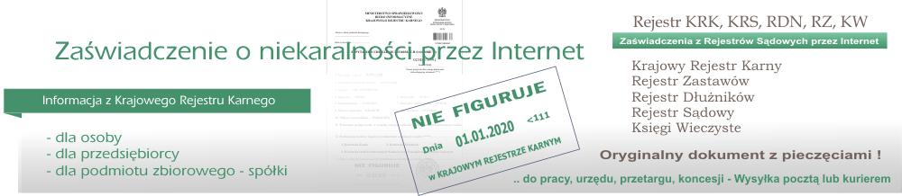Zaświadczenie o niekaralności przez Internet – Zaswiadczenie.pl